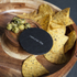 Natural Life NLAS005 Acacia Chip & Dip with Slate Plate: Image 2
