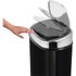 Tower T80900 Square Sensor Bin - Black - 58L: Image 2