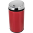 Morphy Richards 971496 Round Sensor Bin - Red - 30L: Image 1