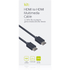 Kit 1m HDMI Cable - Black: Image 5