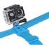 Kitvision Head Strap Mount for Action Cameras (GoPro, Kitvision: Edge H10, Splash, Esc 5 & Esc 5W) - Blue: Image 2