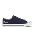 Crosshatch Men's New Halfpipe Canvas Trainers - Navy: Image 1