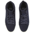 Crosshatch Men's Borneo High Top Trainers - Navy: Image 2