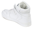 Supra Men's Vaider Leather High Top Trainers - White: Image 5