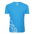 Crosshatch Men's Pacific Print T-Shirt - Blue Danube: Image 2