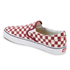 Vans Men's Classic Slip-on Checkerboard Trainers - Rhubarb/White: Image 4