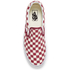 Vans Men's Classic Slip-on Checkerboard Trainers - Rhubarb/White: Image 3