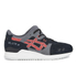 Asics Gel-Lyte III 'Granite Pack' Trainers - Black/Chilli: Image 1
