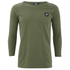 Good For Nothing Men's Lineola 3/4 Sleeve Top - Khaki: Image 1