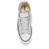 Converse Women's Chuck Taylor Textile Glitter OX Trainers - Silver/Mouse/White: Image 3
