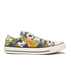 Converse Women's Chuck Taylor All Star Canvas Print OX Trainers - Inked/Egret/Black: Image 1