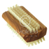 Hydrea London Olive Wood Nail Brush - Large: Image 1