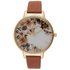 Olivia Burton Women's Flower Festival Watch - Tan/Gold: Image 1