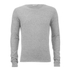 Selected Homme Men's Token Crew Neck Jumper - Light Grey Melange: Image 1
