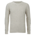 Selected Homme Men's Hunter Crew Neck Jumper - White Pepper: Image 1