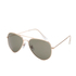 Selected Homme Men's Alberto Aviator Sunglasses - Gold: Image 2