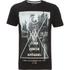 Dissident Men's Crosser Graphic Print T-Shirt - Black: Image 1