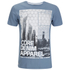 Dissident Men's Arrow Crane Graphic Print T-Shirt - Vintage Blue: Image 1