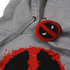 Marvel Deadpool Mens Paint Logo Hoody - Grijs: Image 3