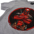 Marvel Men's Deadpool Marvel Deadpool T-Shirtports Grey: Image 2