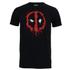 Marvel Men's Deadpool Paint Logo T-Shirt - Black: Image 1