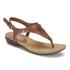 Lauren Ralph Lauren Women's Kally Leather Sandals - Polo Tan: Image 2