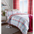 Catherine Lansfield St. Ives Check Bedding Set - Pink: Image 1