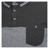 Brave Soul Men's Othello Panel Polo Shirt - Charcoal: Image 4