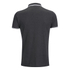 Brave Soul Men's Othello Panel Polo Shirt - Charcoal: Image 2