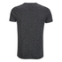 Brave Soul Men's Exit Zip Pocket Fleck T-Shirt - Charcoal: Image 2