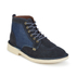 Kickers Men's Legendary Suede Lace Up Boots - Dark Blue: Image 2