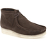 Clarks Originals Men's Wallabee Boots - Brown Suede: Image 2