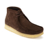 Clarks Originals Men's Wallabee Boots - Brown Suede: Image 4