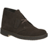 Clarks Originals Men's Desert Boots - Brown Suede: Image 2