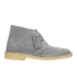 Clarks Originals Women's Suede Desert Boots - Blue/Grey: Image 1