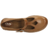 Clarks Women's Tustin Talent Leather Mary Jane Flats - Dark Tan: Image 3
