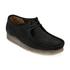 Clarks Originals Men's Wallabee Shoes - Black Suede: Image 4