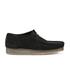 Clarks Originals Men's Wallabee Shoes - Black Suede: Image 1