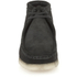 Clarks Originals Men's Wallabee Boots - Black Suede: Image 4