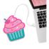 Freshly Baked Cupcake USB Cup Warmer: Image 1