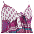 MINKPINK Women's Goodnight Darling Tie Front Top - Multi: Image 4