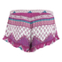 MINKPINK Women's Goodnight Darling Ruffle Edge Shorts - Multi: Image 3