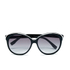 Lacoste Women's Round Sunglasses - White/Black: Image 1