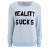 Wildfox Women's Reality Sucks Baggy Beach Jumper - Jacuzzi: Image 1