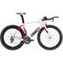 Ceepo Venom 105 Time Trial Bike - White/Red: Image 1