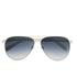 Calvin Klein Platinum Unisex Aviator Sunglasses - Ivory: Image 1