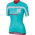 Sportful Gruppetto Women's Short Sleeve Jersey - Blue/White/Pink: Image 1