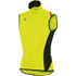 Sportful Fiandre Light NoRain Gilet - Yellow/Black: Image 1