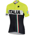 Sportful Italia IT Short Sleeve Jersey - Black/Yellow: Image 1