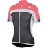 Sportful Pista Short Sleeve Jersey - Grey/White/Pink: Image 1